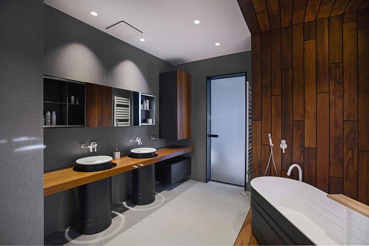 Idee di arredo per un bagno in stile industriale n.10