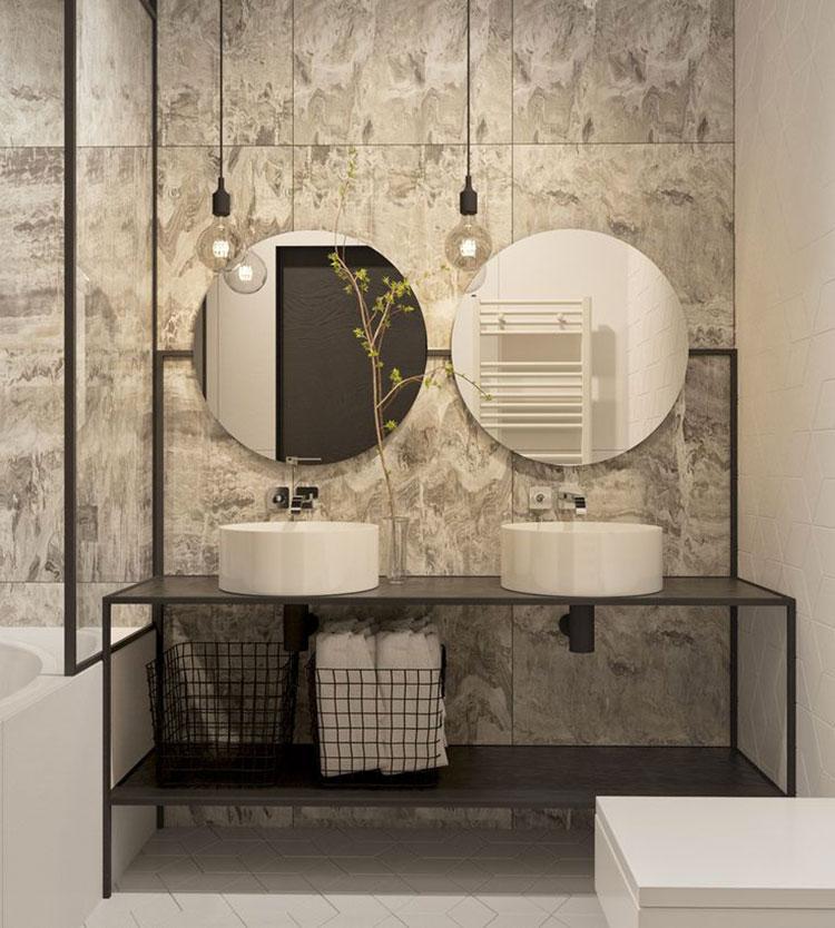 Idee di arredo per un bagno in stile industriale n.22