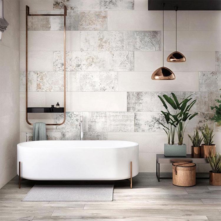 Idee di arredo per un bagno in stile industriale n.25