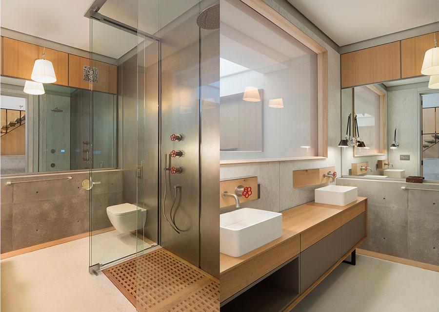 Idee di arredo per un bagno in stile industriale n.34