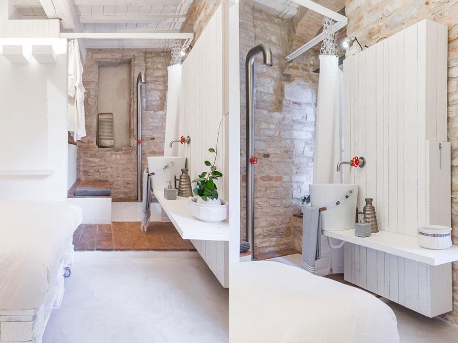 Idee di arredo per un bagno in stile industriale n.39