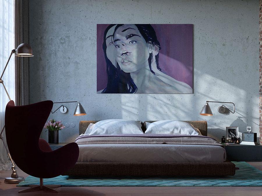 Idee per arredare una camera da letto in stile industriale n.24