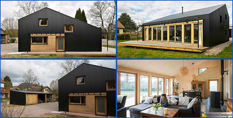 Casa in legno un progetto di design con costi dettagliati - Progetto casa design ...