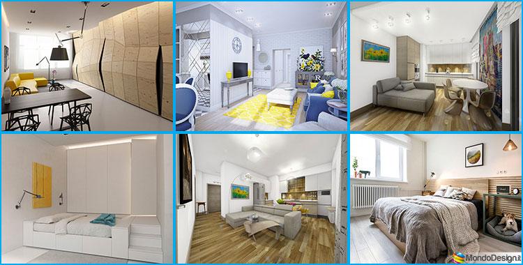 Come arredare una casa di 70 mq ecco 3 progetti - Planimetria casa 60 mq ...
