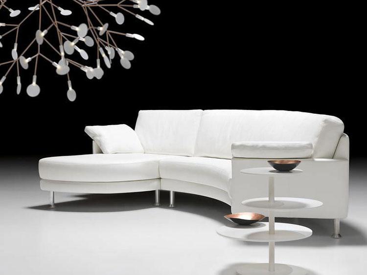 Modello di divano curvo dal design particolare n.18