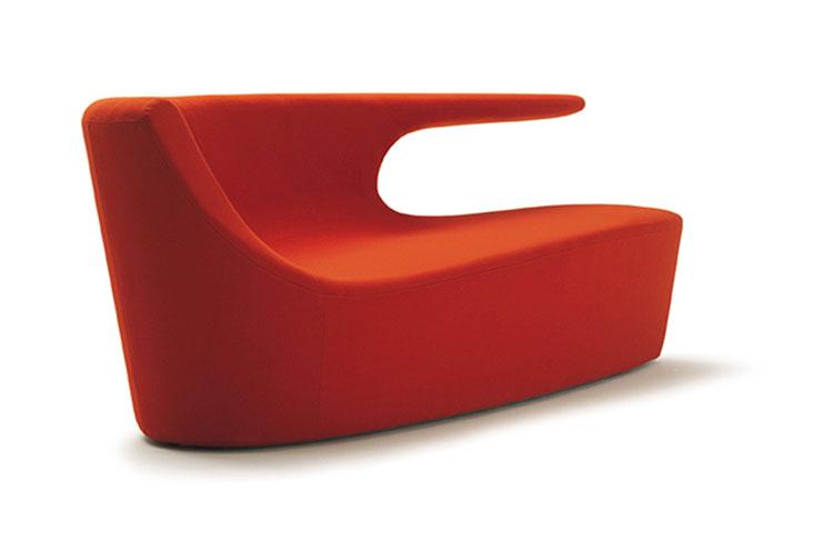Modello di divano curvo dal design particolare n.22