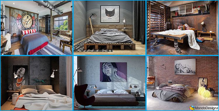 25 idee per arredare una camera da letto in stile for Arredare camera da letto ragazzo