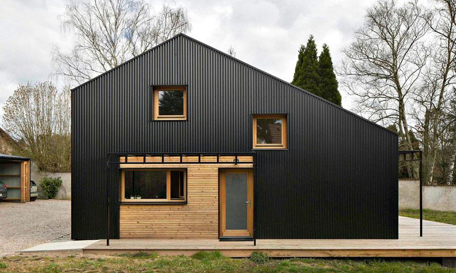 Progetto per casa in legno con costi dettagliati n.01