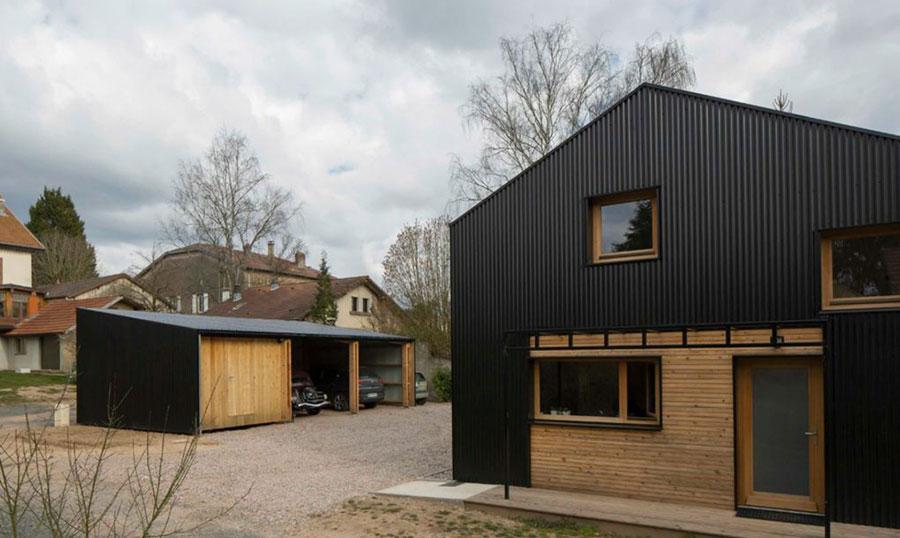 Casa in legno un progetto di design con costi dettagliati - Costo progetto casa ...