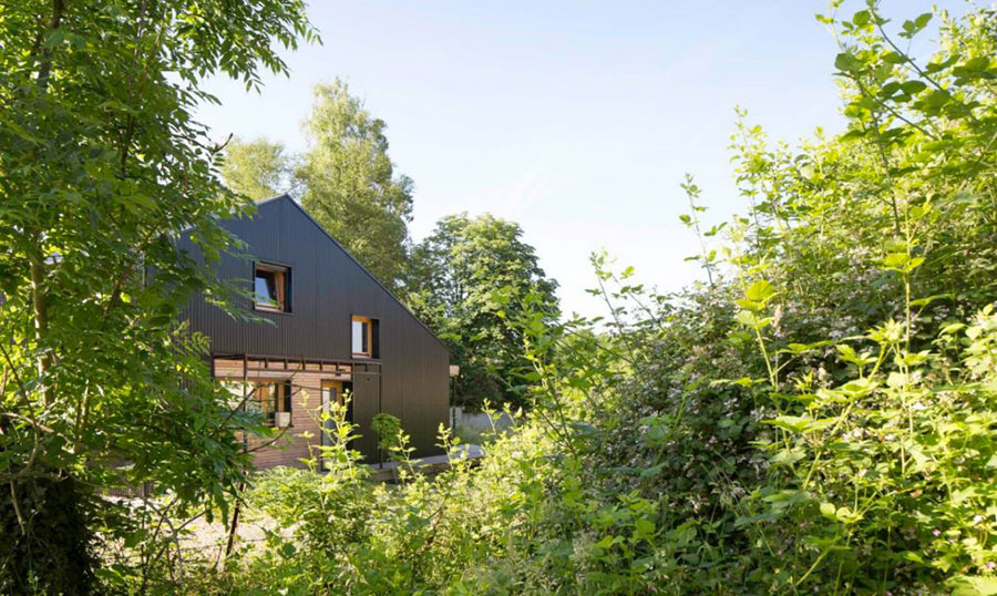 Progetto per casa in legno con costi dettagliati n.04