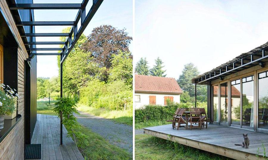 Progetto per casa in legno con costi dettagliati n.05