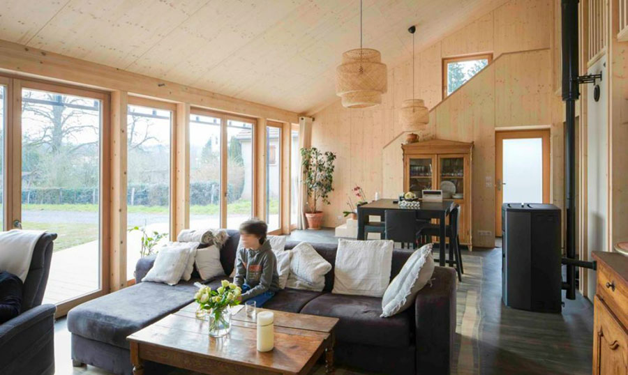 Progetto per casa in legno con costi dettagliati n.08
