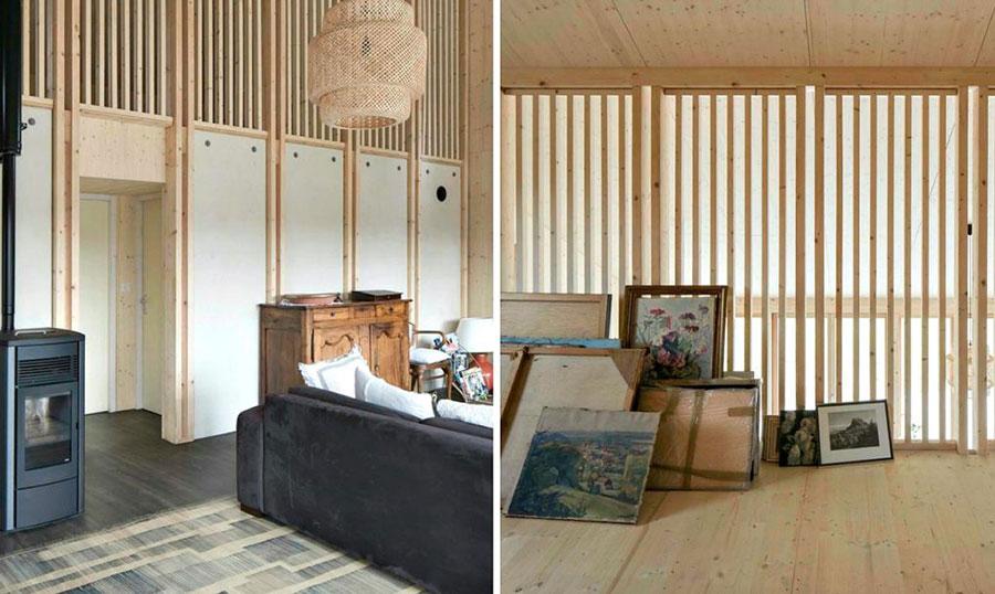 Progetto per casa in legno con costi dettagliati n.09
