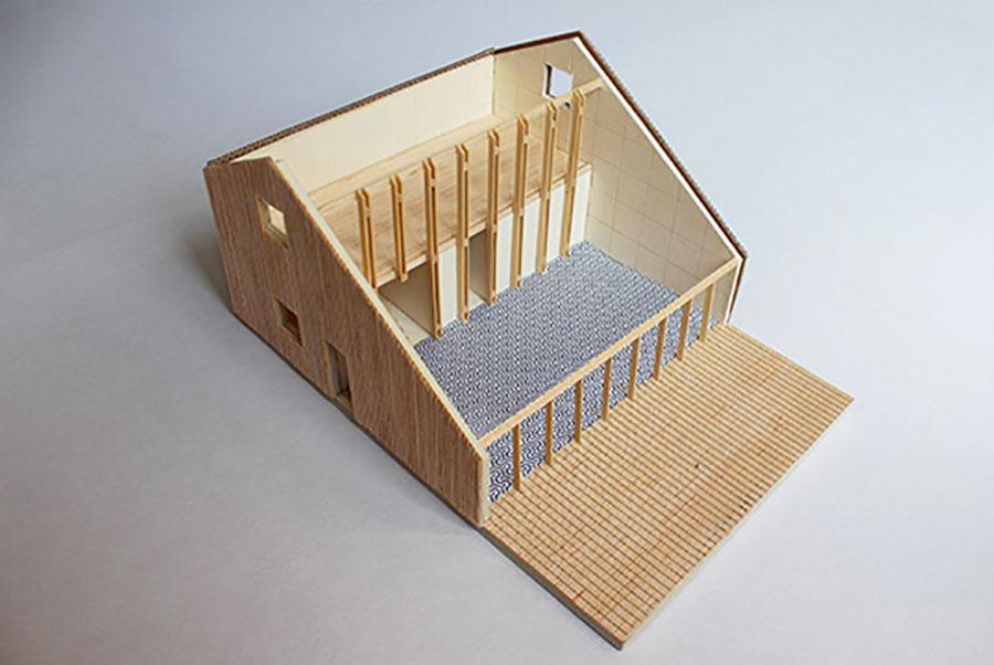 Progetto per casa in legno con costi dettagliati n.10