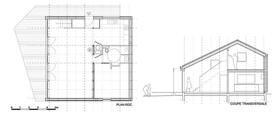 Progetto per casa in legno con costi dettagliati n.11