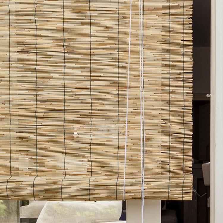 Modello di tende in bambù per interni o esterni n.01