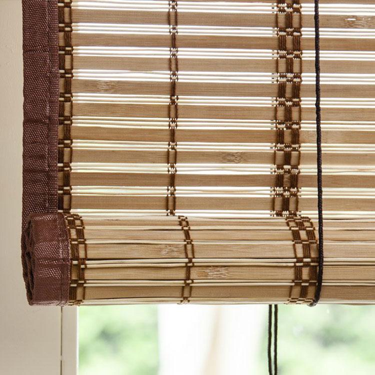 Modello di tende in bambù per interni o esterni n.02