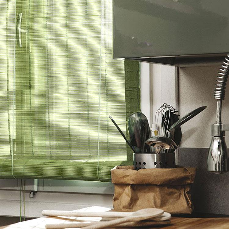 Modello di tende in bambù per interni o esterni n.04