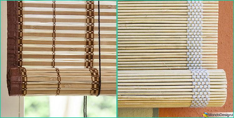 tapparelle e tende in bamb per interni ed esterni