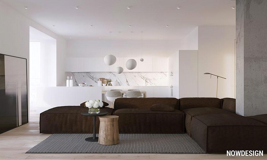 Idee per arredare un appartamento in stile minimal n.01