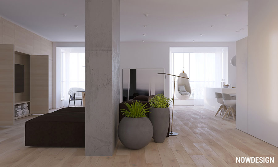 Idee per arredare un appartamento in stile minimal n.02