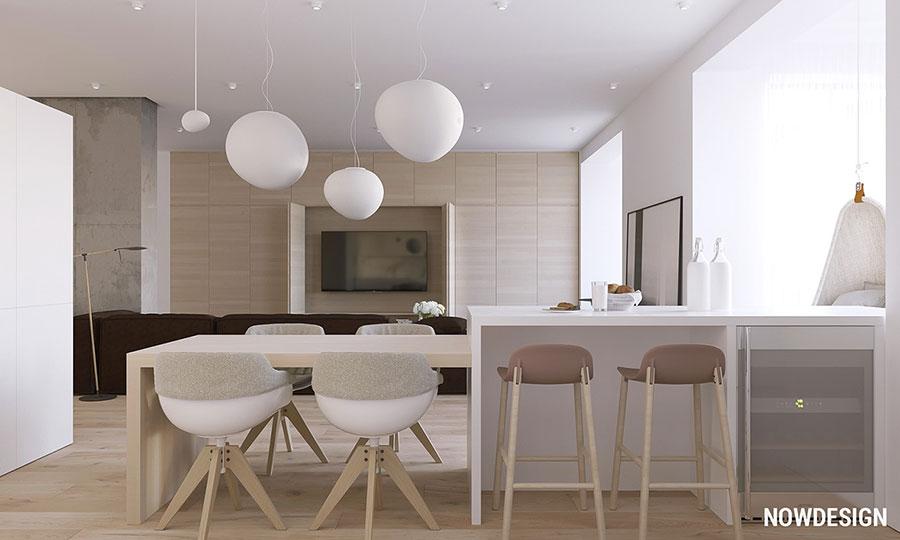 Idee per arredare un appartamento in stile minimal n.03