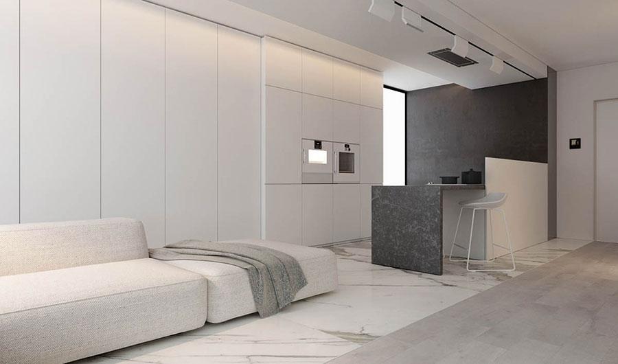 Idee per arredare un appartamento in stile minimal n.07