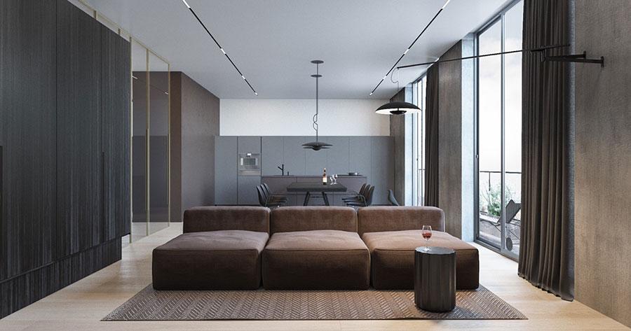 Idee per arredare un appartamento in stile minimal n.11