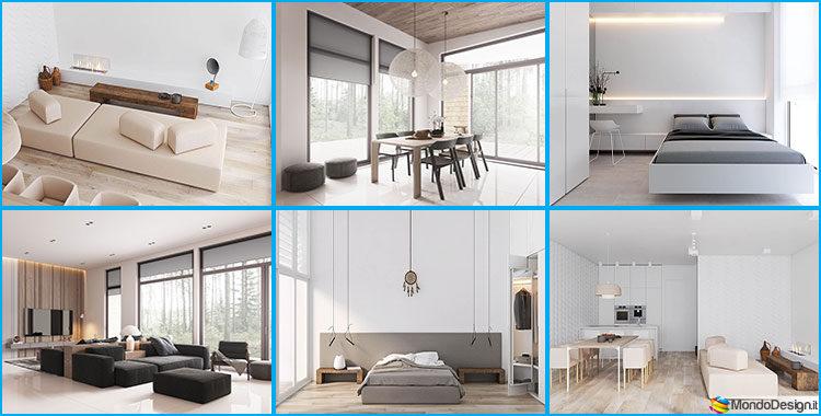 Come arredare un appartamento minimal ecco 5 progetti di for Arredare appartamento
