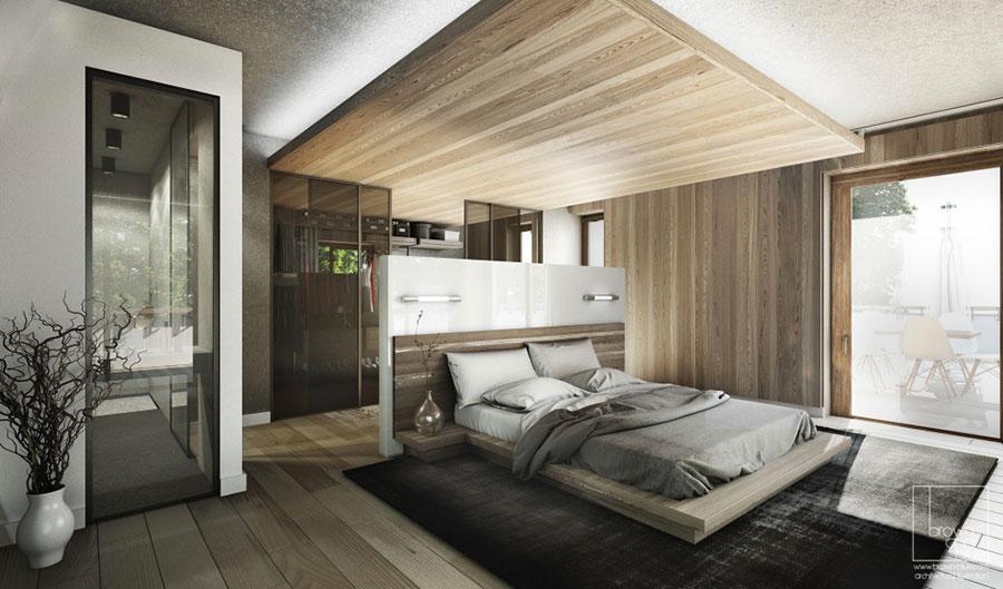 20 Idee di Arredo per Camere da Letto in Legno dal Design Moderno ...