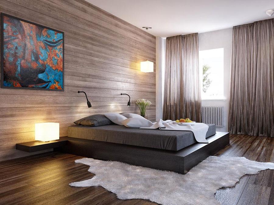 20 Idee di Arredo per Camere da Letto in Legno dal Design ...