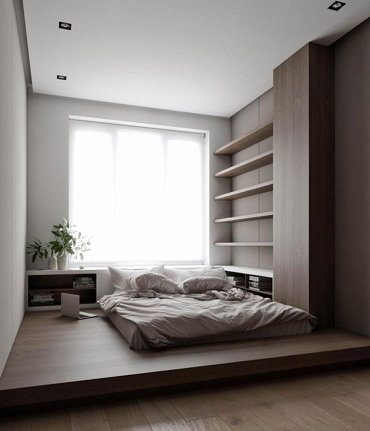 Idee per arredare una camera da letto in legno dal design moderno n.11
