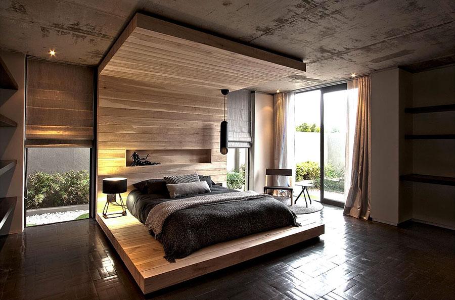 20 idee di arredo per camere da letto in legno dal design - Camere da letto di design ...