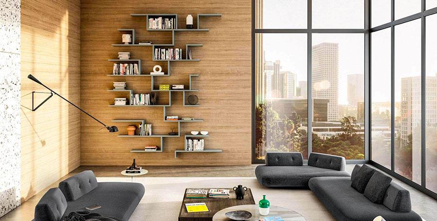 Libreria a Parete: 45 Idee di Design per Arredare il ...