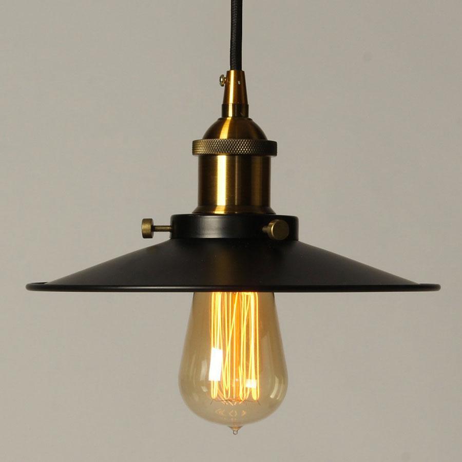 Modello di lampadario a sospensione in stile industriale n.05