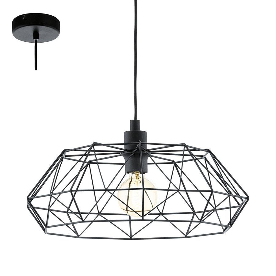 Modello di lampadario a sospensione in stile industriale n.09