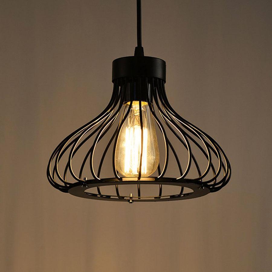 Modello di lampadario a sospensione in stile industriale n.10