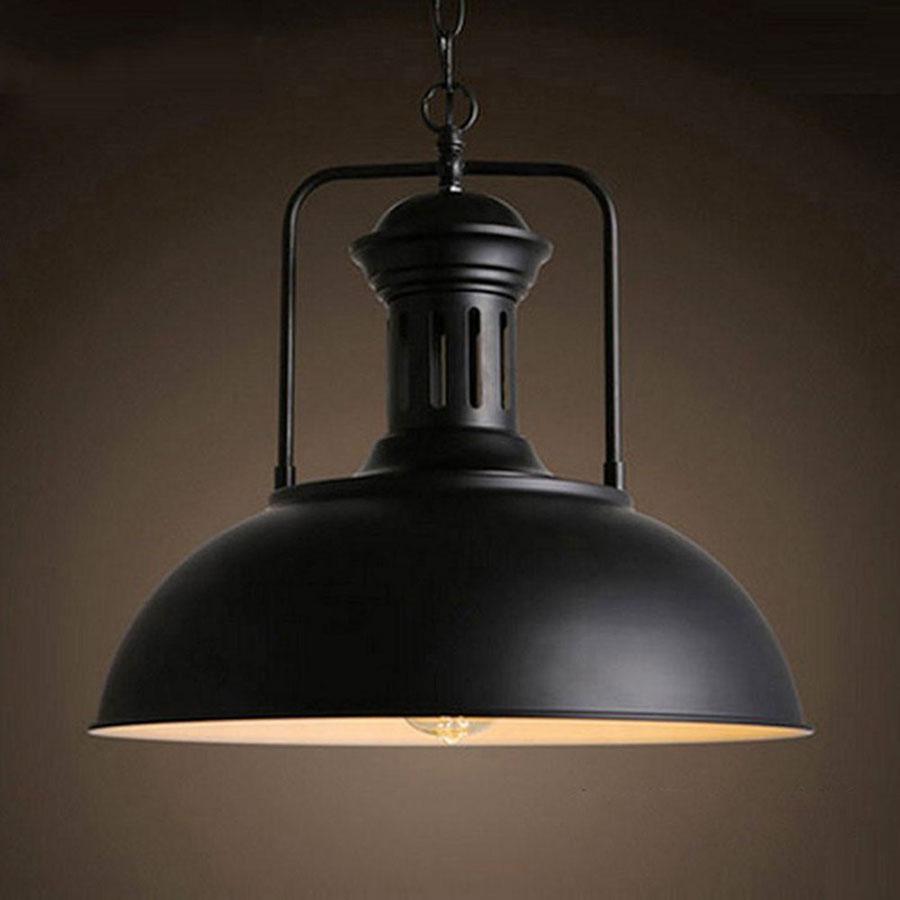 Modello di lampadario a sospensione in stile industriale n.14