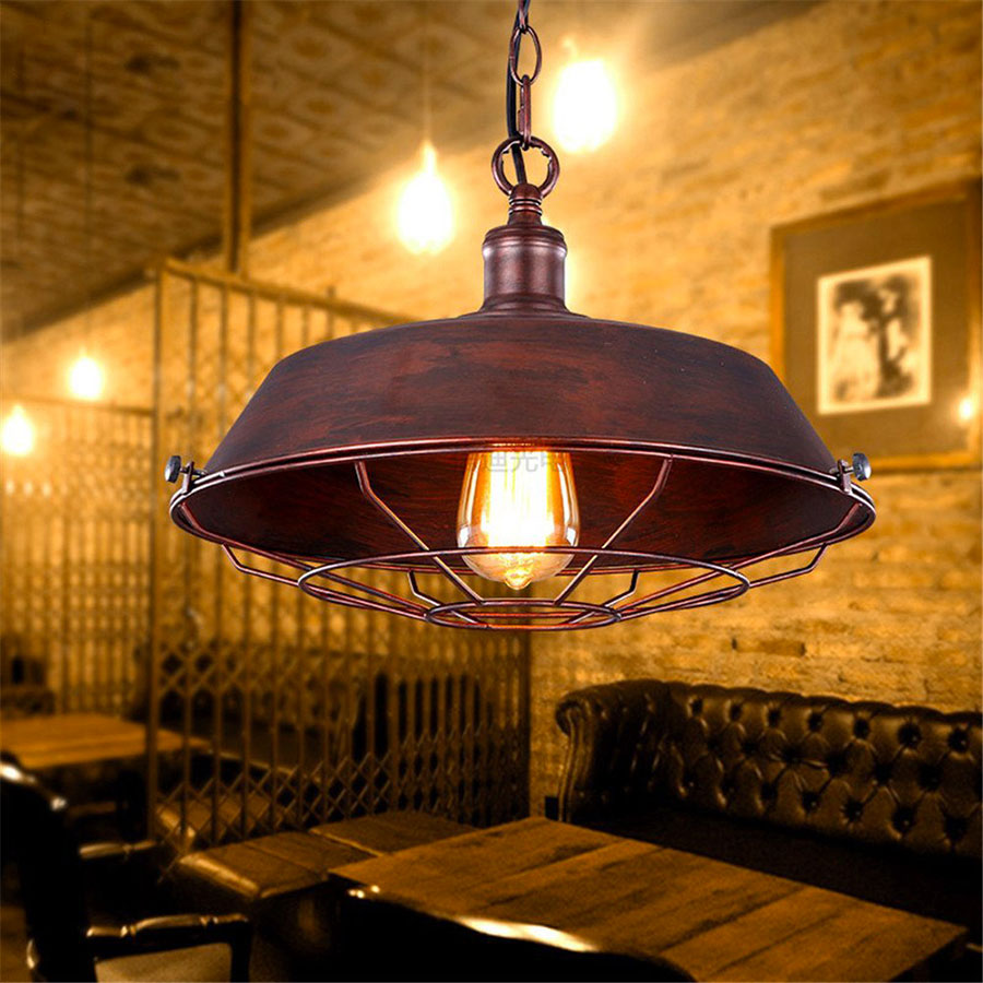 Modello di lampadario a sospensione in stile industriale n.15