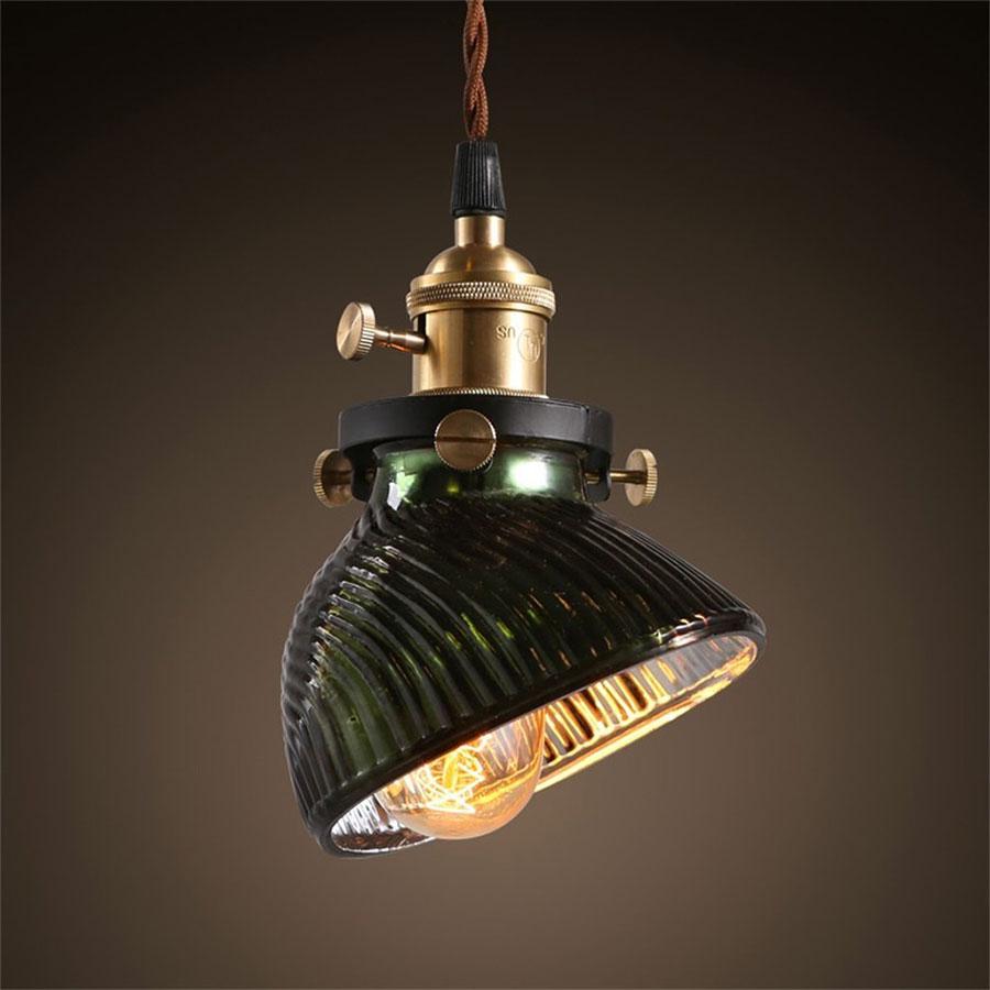 Modello di lampadario a sospensione in stile industriale n.21