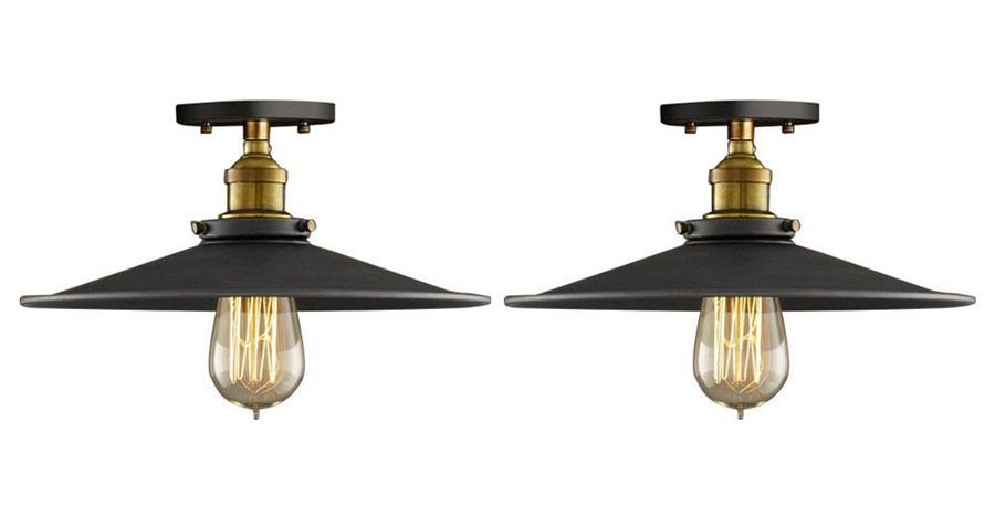 Modello di lampadario a sospensione in stile industriale n.22
