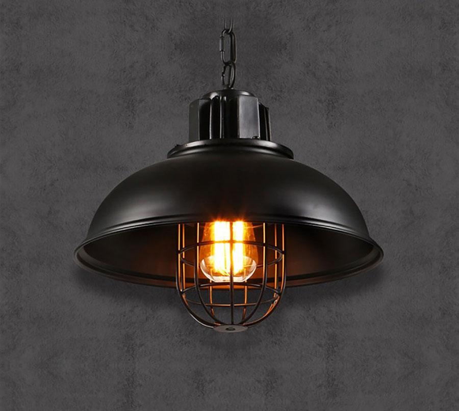 Modello di lampadario a sospensione in stile industriale n.25