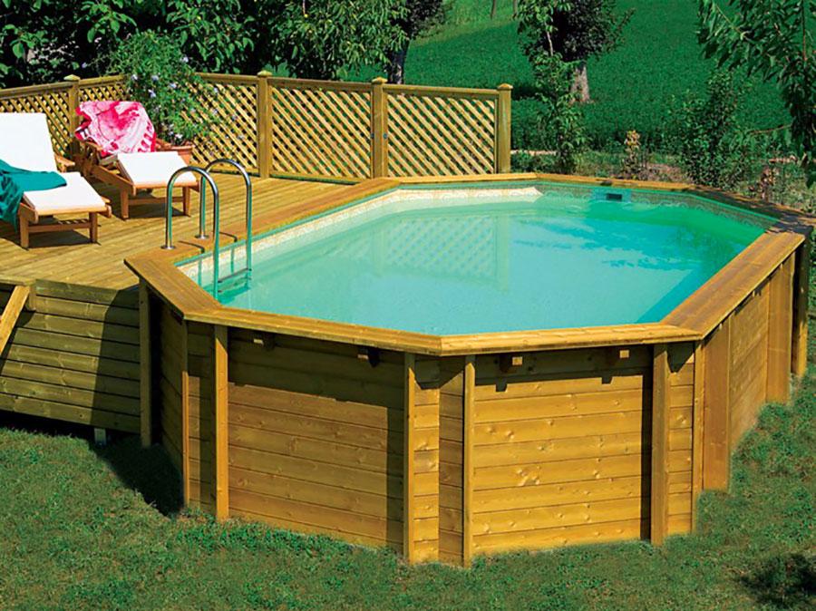 Le 20 migliori marche di piscine fuori terra - Piscine fuori terra con solarium ...