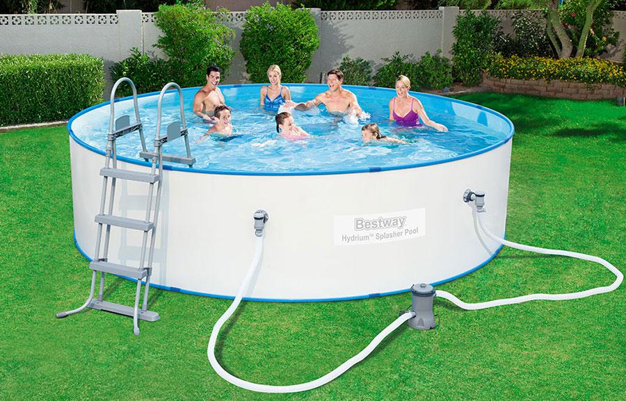 Modello di piscina fuori terra di Bestway