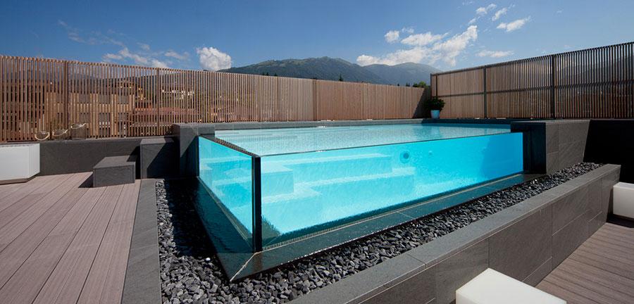 Modello di piscina fuori terra di Castiglione