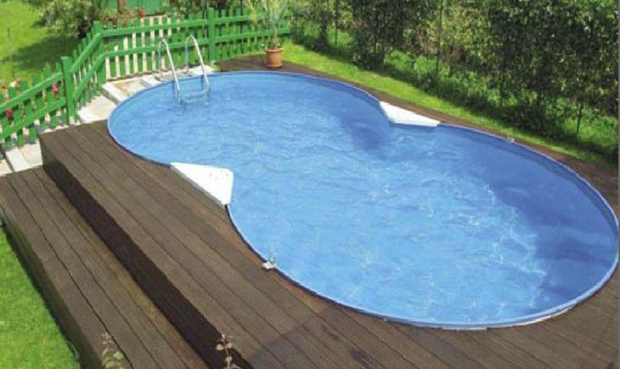 Modello di piscina fuori terra di Foni