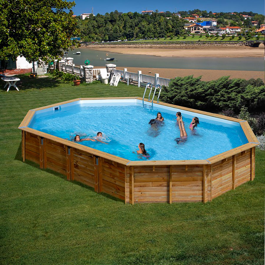 Modello di piscina fuori terra di Gre