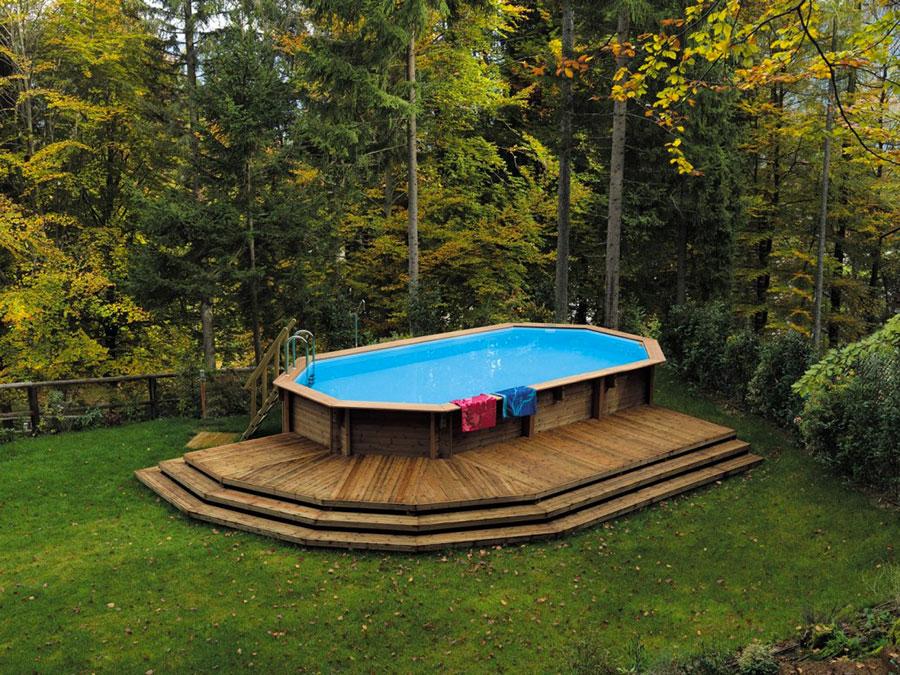 Modello di piscina fuori terra de Il Ceppo