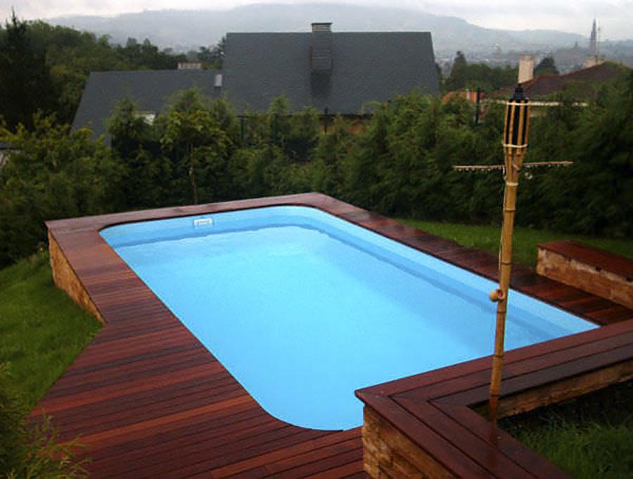 Modello di piscina fuori terra di Multiforma