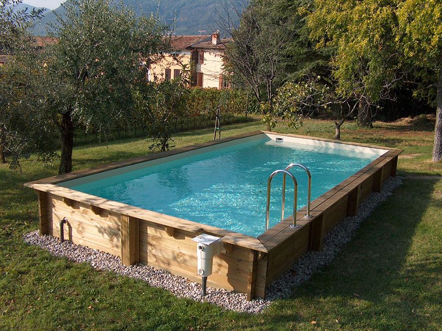 Modello di piscina fuori terra di Solaris